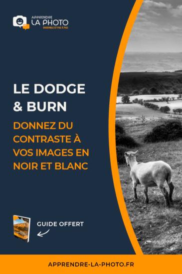 Le dodge & burn: donnez du contraste à vos images (en noir et blanc)!