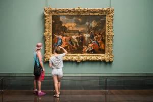 musée tableau jeunes adolescents