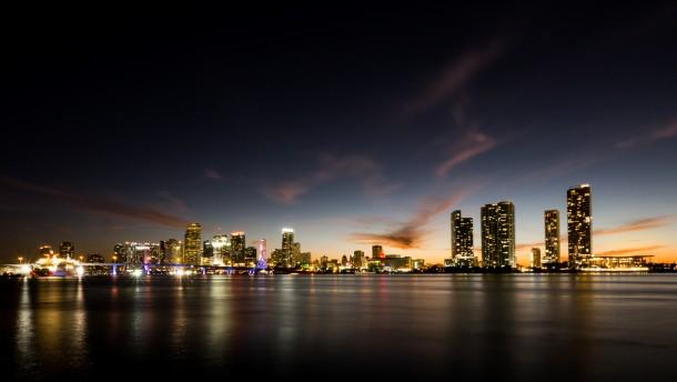 photo de paysage ville Miami, aux Etats-Unis cadre ratio d'aspect