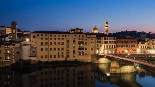 filtre gradué photo ville ciel bleu pont