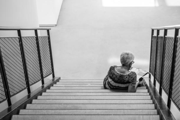 photo escalier noir et blanc rencontres d'Arles 2015 lecture