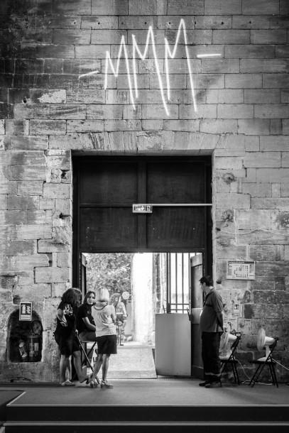 rencontre entre Mathieu « M » Chédid et Martin Parr rencontres d'Arles MMM