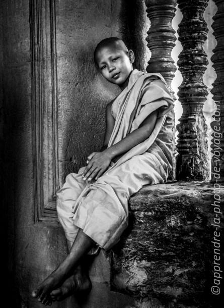 village du lot photo de voyage enfant noir et blanc