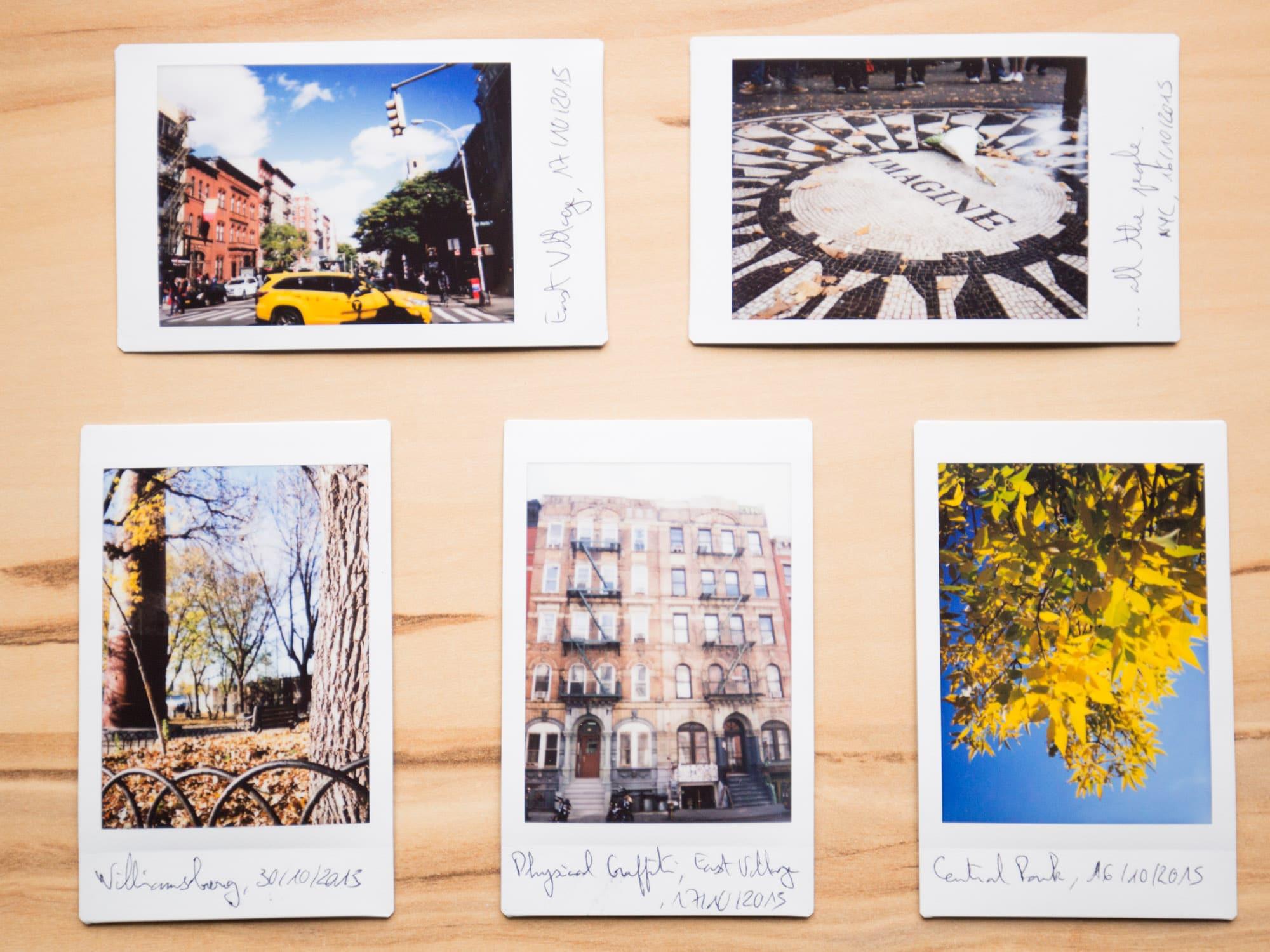 La PHOTO INSTANTANEE Fuji Instax Polaroid