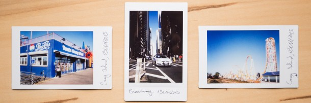 Photo instantanée Fuji Instax Mini 90 New-York Coney Island