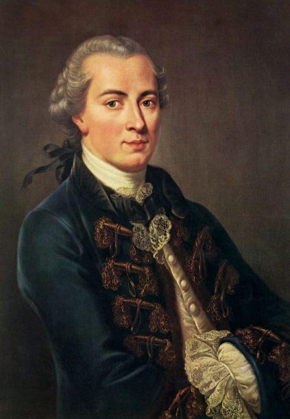 Emmanuel Kant , dit «German Swaggy Boy»