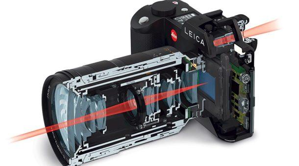 Et dans le principe, voici comment fonctionne un viseur électronique (Leica ou non hein).