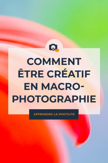 Comment être créatif en macrophotographie