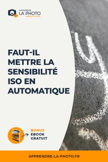 Faut-il mettre la sensibilité ISO en automatique?