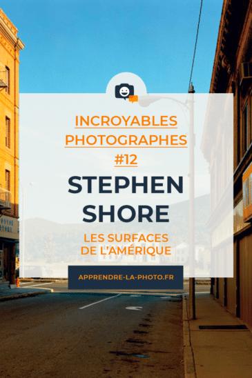 Les surfaces de l'Amérique avec Stephen Shore – Incroyables Photographes #12
