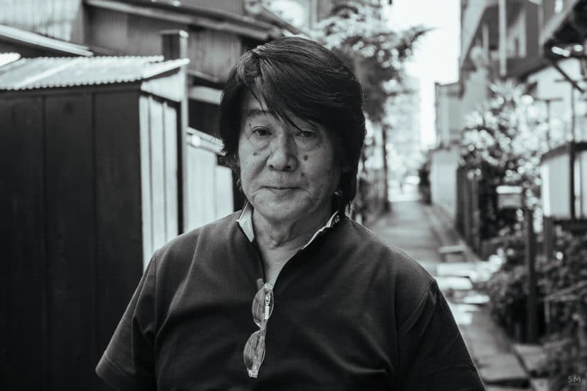 Portrait Daido Moriyama photo Sebastian Mayer