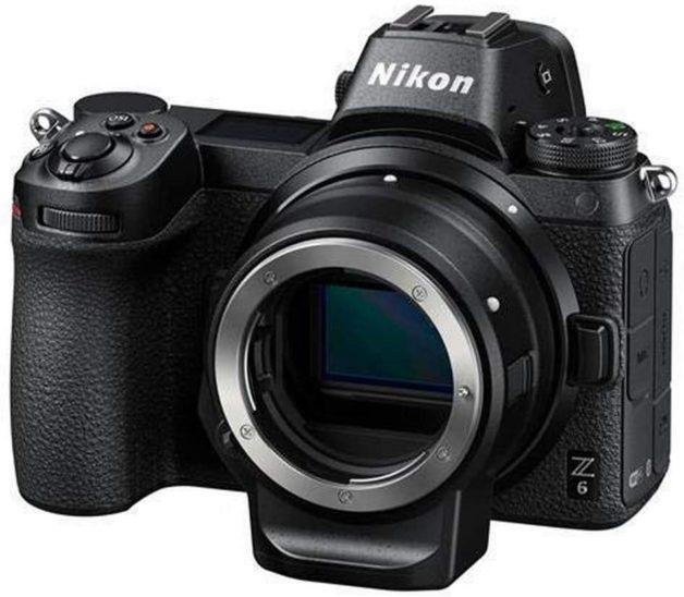 L'adaptateur FTZ monté sur le Nikon Z6
