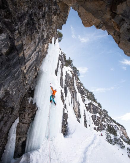 Cascade de glace photo Clément Belleudy