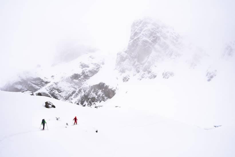 Ski de randonnée en Belledonne photo Clément Belleudy