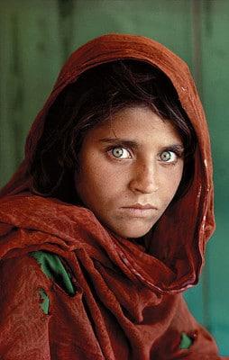 Afghan Girl photo Steve McCurry