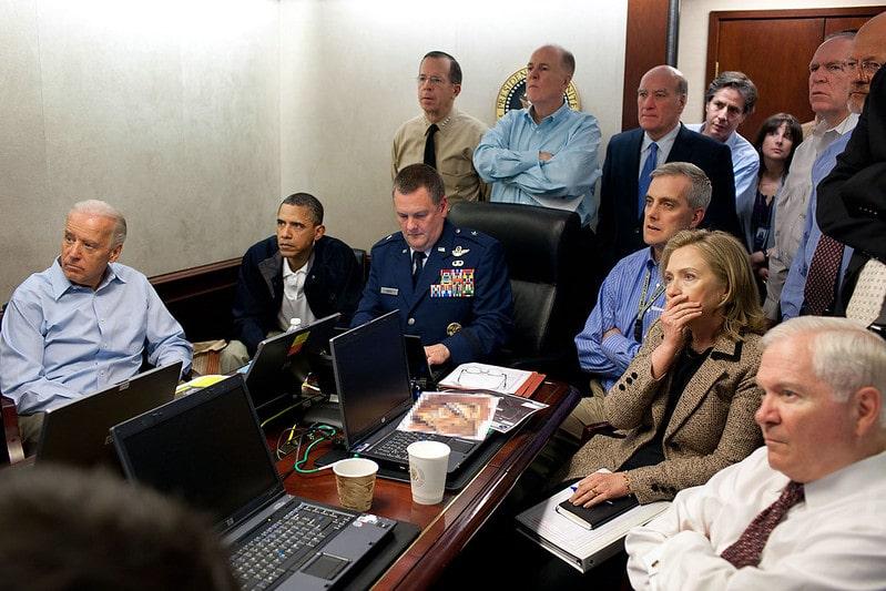Situation Room photo Pete Souza
