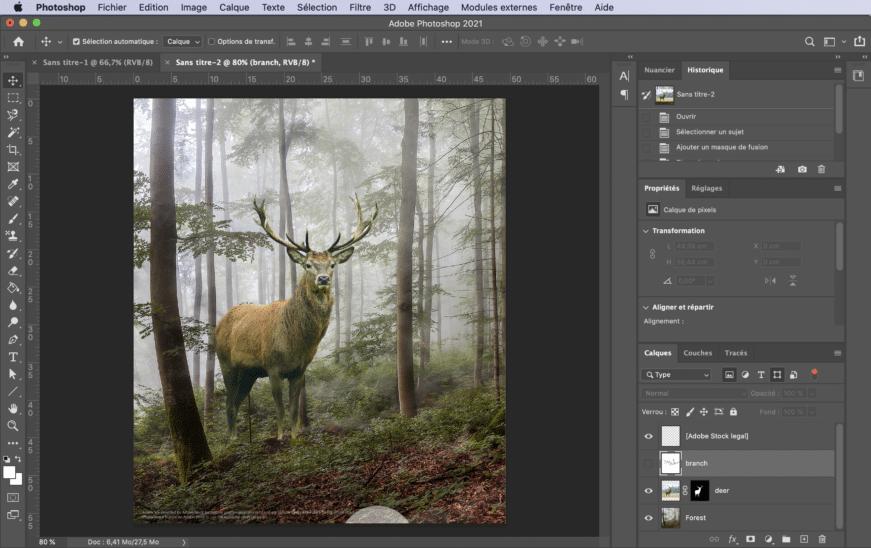 Interface Photoshop