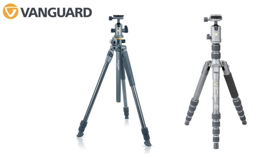 Trépieds Vanguard Alta Pro et Veo 2 Go