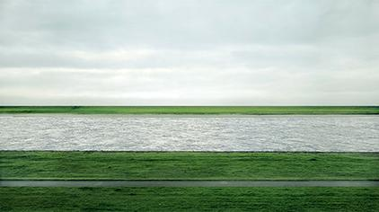 Rhein II de Andreas Gursky