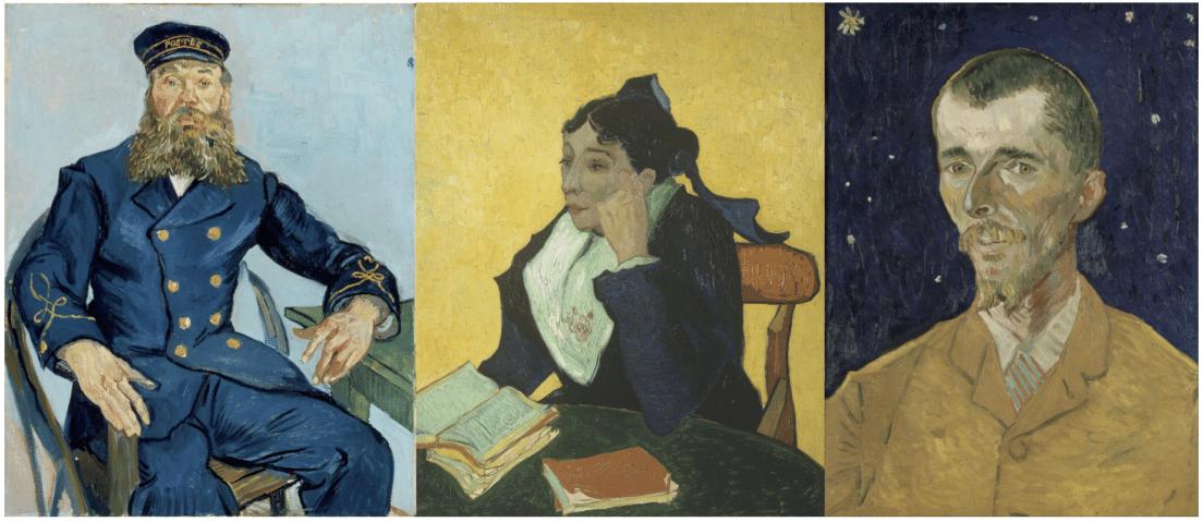 Portraits de Vincent Van Gogh
